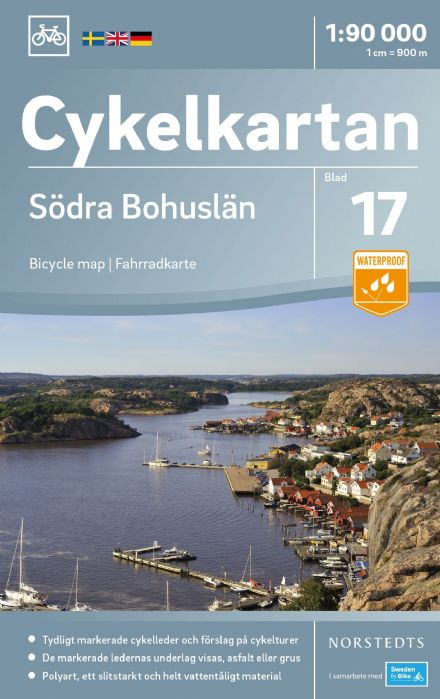 Sweden Cycling Map 17 - Bohuslän South